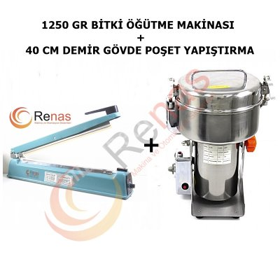 MANUAL GIDA ÖĞÜTÜCÜ VE KAPATMA MAKİNASI